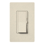 Lutron DVSCFSQ-LF-LS Diva 1.5 A Fan Speed ControlWith 1.0 A LED or CFL and 2.0 A Incandescent/Halogen Single Pole Switch in Limestone