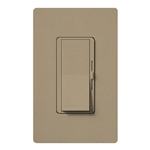 Lutron DVSCFSQ-LF-MS Diva 1.5 A Fan Speed ControlWith 1.0 A LED or CFL and 2.0 A Incandescent/Halogen Single Pole Switch in Mocha Stone