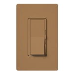 Lutron DVSCFSQ-LF-TC Diva 1.5 A Fan Speed ControlWith 1.0 A LED or CFL and 2.0 A Incandescent/Halogen Single Pole Switch in Terracotta