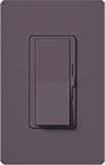 Lutron DVSCLV-600P-PL Diva Satin 600VA, 500W Magnetic Low Voltage Single Pole Dimmer in Plum
