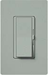 Lutron DVSCLV-603P-BG Diva Satin 600VA, 500W Magnetic Low Voltage 3-Way Dimmer in Bluestone