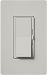 Lutron DVSCSTV-PD Diva Satin 0-10 V Control Single pole/3-way Preset Dimmer, 50 mA sink, 8 A load in Palladium