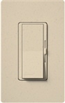 Lutron DVSCSTV-ST Diva Satin 0-10 V Control Single pole/3-way Preset Dimmer, 50 mA sink, 8 A load in Stone