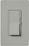Lutron DVSTV-GR Diva 0-10 V Control Single pole/3-way Preset Dimmer, 50 mA sink, 8 A load in Gray