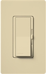 Lutron DVSTV-IV Diva 0-10 V Control Single pole/3-way Preset Dimmer, 50 mA sink, 8 A load in Ivory