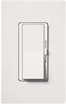 Lutron DVSTV-WH Diva 0-10 V Control Single pole/3-way Preset Dimmer, 50 mA sink, 8 A load in White