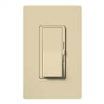 Lutron DVW-600PH-IV Diva 600W Incandescent / Halogen Single Pole Dimmer with Wallplate in Ivory