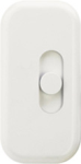Lutron LC-300H-WH Attache 300W Incandescent / Halogen Single Pole Lamp Dimmer in White