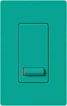 Lutron LX-1PSL-TQ Lyneo Lx 120V / 5A Single Pole Switch in Turquoise