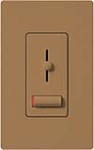 Lutron LX-600PL-TC Lyneo Lx 600W Incandescent / Halogen Single Pole Dimmer in Terracotta