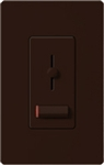 Lutron LX-600PLH-BR Lyneo Lx 600W Incandescent / Halogen Single Pole Dimmer in Brown
