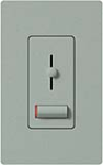 Lutron LXF-103PL-277-BG Lyneo Lx 277V / 6A Fluorescent 3-Wire / Hi-Lume LED Single Pole / 3-Way Dimmer in Bluestone