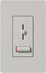 Lutron LXF-103PL-PD Lyneo Lx 120V / 8A Fluorescent 3-Wire / Hi-Lume LED Single Pole / 3-Way Dimmer in Palladium