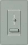 Lutron LXFSQ-F-BG Lyneo Lx 120V / 1.5A 3-Speed Single Pole / 3-Way Fan Control in Bluestone