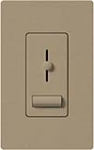 Lutron LXFSQ-F-MS Lyneo Lx 120V / 1.5A 3-Speed Single Pole / 3-Way Fan Control in Mocha Stone