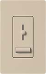 Lutron LXFSQ-F-TP Lyneo Lx 120V / 1.5A 3-Speed Single Pole / 3-Way Fan Control in Taupe