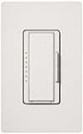 Lutron MA-600I-WH Maestro 600W Incandescent / Halogen Eco-Minder Multi Location Dimmer in White