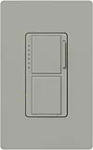 Lutron MA-L3S25-GR Maestro 300W & 2.5A Incandescent / Halogen Single Location Dimmer & Switch in Gray