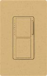 Lutron MA-L3S25-GS Maestro Satin 300W & 2.5A Incandescent / Halogen Single Location Dimmer & Switch in Goldstone