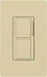 Lutron MA-L3S25-IV Maestro 300W & 2.5A Incandescent / Halogen Single Location Dimmer & Switch in Ivory