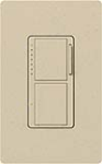 Lutron MA-L3S25-ST Maestro Satin 300W & 2.5A Incandescent / Halogen Single Location Dimmer & Switch in Stone