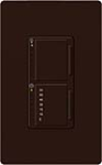 Lutron MA-L3T251-BR Maestro 300W & 2.5A Incandescent / Halogen Single Location Dimmer & Timer in Brown