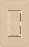 Lutron MA-L3T251-DS Maestro Satin 300W & 2.5A Incandescent / Halogen Single Location Dimmer & Timer in Desert Stone