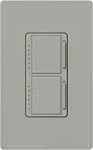 Lutron MA-L3T251-GR Maestro 300W & 2.5A Incandescent / Halogen Single Location Dimmer & Timer in Gray