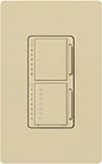 Lutron MA-L3T251-IV Maestro 300W & 2.5A Incandescent / Halogen Single Location Dimmer & Timer in Ivory