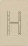 Lutron MA-L3T251-ST Maestro Satin 300W & 2.5A Incandescent / Halogen Single Location Dimmer & Timer in Stone