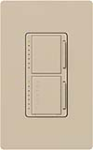 Lutron MA-L3T251-TP Maestro Satin 300W & 2.5A Incandescent / Halogen Single Location Dimmer & Timer in Taupe
