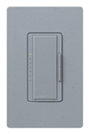 Lutron MA-PRO-BG Maestro Phase-selectable dimmer for LED, ELV, MLV and Incandescent lamp loads, Single Pole / 3-Way Dimmer in Blue Stone