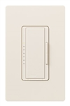 Lutron MA-PRO-ES Maestro Phase-selectable dimmer for LED, ELV, MLV and Incandescent lamp loads, Single Pole / 3-Way Dimmer in Eggshell