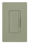 Lutron MA-PRO-GB Maestro Phase-selectable dimmer for LED, ELV, MLV and Incandescent lamp loads, Single Pole / 3-Way Dimmer in Green Briar
