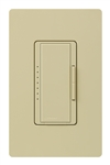 Lutron MA-PRO-IV Maestro Phase-selectable dimmer for LED, ELV, MLV and Incandescent lamp loads, Single Pole / 3-Way Dimmer in Ivory