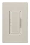 Lutron MA-PRO-LS Maestro Phase-selectable dimmer for LED, ELV, MLV and Incandescent lamp loads, Single Pole / 3-Way Dimmer in Limestone