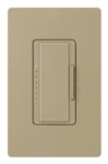 Lutron MA-PRO-MS Maestro Phase-selectable dimmer for LED, ELV, MLV and Incandescent lamp loads, Single Pole / 3-Way Dimmer in Mocha Stone