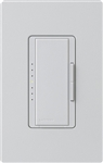 Lutron MA-PRO-PD Maestro Phase-selectable dimmer for LED, ELV, MLV and Incandescent lamp loads, Single Pole / 3-Way Dimmer in Palladium
