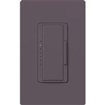 Lutron MA-PRO-PL Maestro Phase-selectable dimmer for LED, ELV, MLV and Incandescent lamp loads, Single Pole / 3-Way Dimmer in Plum