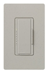 Lutron MA-PRO-ST Maestro Phase-selectable dimmer for LED, ELV, MLV and Incandescent lamp loads, Single Pole / 3-Way Dimmer in Stone