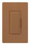 Lutron MA-PRO-TC Maestro Phase-selectable dimmer for LED, ELV, MLV and Incandescent lamp loads, Single Pole / 3-Way Dimmer in Terracotta