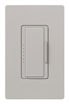 Lutron MA-PRO-TP Maestro Phase-selectable dimmer for LED, ELV, MLV and Incandescent lamp loads, Single Pole / 3-Way Dimmer in Taupe
