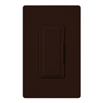 Lutron MA-R-277-BR Maestro 277V Companion Dimmer in Brown