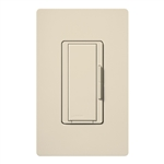 Lutron MA-R-277-LA Maestro 277V Companion Dimmer in Light Almond