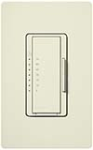 Lutron MA-T51-BI Maestro Satin 120V 5A Lighting, 3A Fan Single Location Timer in Biscuit