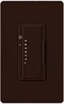 Lutron MA-T51-BR Maestro 120V 5A Lighting, 3A Fan Single Location Timer in Brown
