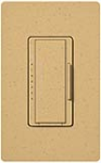 Lutron MA-T51-GS Maestro Satin 120V 5A Lighting, 3A Fan Single Location Timer in Goldstone