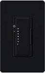 Lutron MA-T51-MN Maestro Satin 120V 5A Lighting, 3A Fan Single Location Timer in Midnight