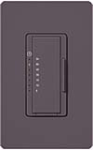 Lutron MA-T51-PL Maestro Satin 120V 5A Lighting, 3A Fan Single Location Timer in Plum
