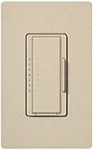 Lutron MA-T51MN-ST Maestro Satin 120V 5A Lighting, 3A Fan Multi Location Timer in Stone
